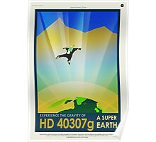 HD 4307g A Super Earth JPL Poster Poster