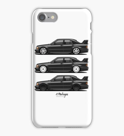 Mercedes 190E Evolution II iPhone Case/Skin