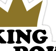 King of poker Sticker