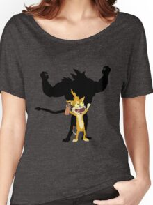 SQUANCHY SHADOW!!! - www.shirtdorks.com Women's Relaxed Fit T-Shirt