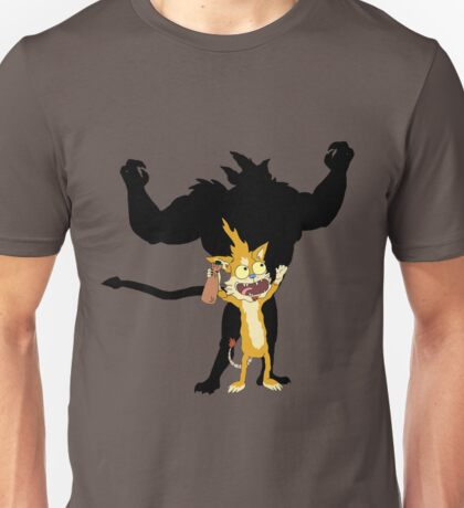 SQUANCHY SHADOW!!! - www.shirtdorks.com Unisex T-Shirt