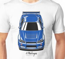 Nissan Skyline R34 GT-R Unisex T-Shirt