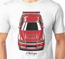 Nissan Skyline R34 GT-R (red) Unisex T-Shirt