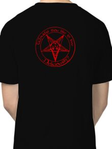 Black Phillip - Live Deliciously Classic T-Shirt