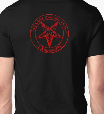 Black Phillip - Live Deliciously Unisex T-Shirt