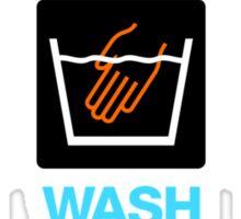 Hand Wash Only! (3) Sticker