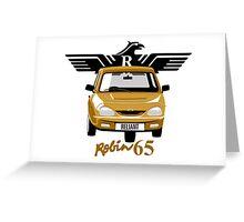 Reliant Robin 65 Greeting Card