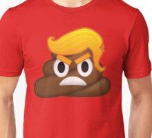 Donald Trump and Poop Emoji Mashup! #NeverTrump #DonaldTrump #DontTrumpAmerica Unisex T-Shirt