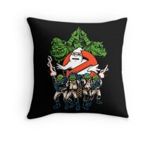 Krang Busters Throw Pillow