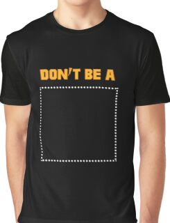 Pulp Fiction Dont be a Square Graphic T-Shirt