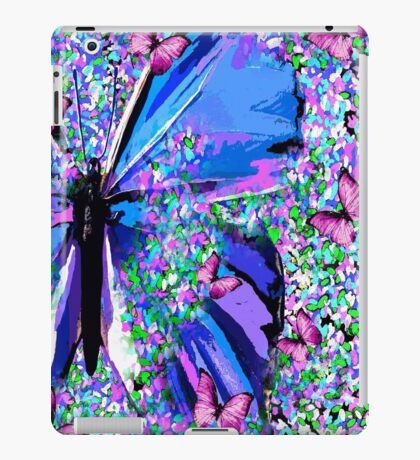 BUTTERFLY OIL PAINTING iPad Case/Skin