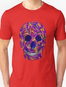 Sugar Skull (large, untiled design) Unisex T-Shirt