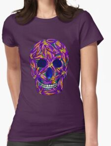 Sugar Skull (large, untiled design) Womens Fitted T-Shirt