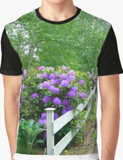 The Cottage Fence Graphic T-Shirt