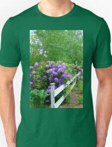 The Cottage Fence Unisex T-Shirt