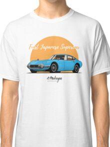 Toyota 2000 GT (blue) Classic T-Shirt