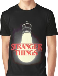 Stranger Things - Lightbulb Graphic T-Shirt