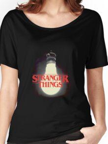 Stranger Things - Lightbulb Women's Relaxed Fit T-Shirt
