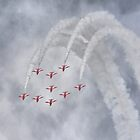 The Red Arrows by Nigel Bangert