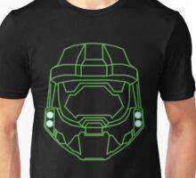 80's Cyber Halo Emblem (Simple) Unisex T-Shirt