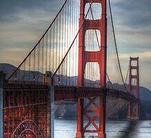 Golden Gate Bridge Noir by Diego  Re