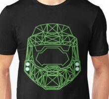 80's Cyber Halo Emblem (Complex) Unisex T-Shirt