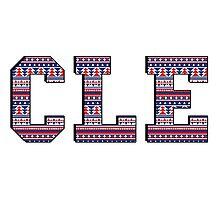 CLE - Indians Aztec Photographic Print