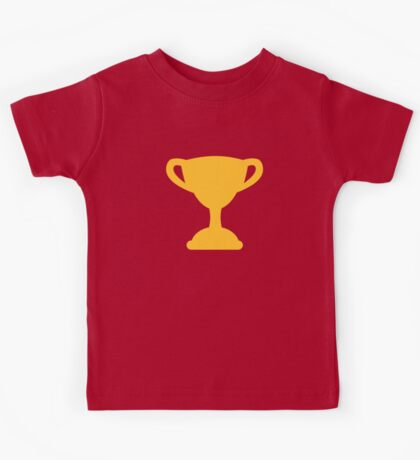 Cup trophy champion Kids Tee