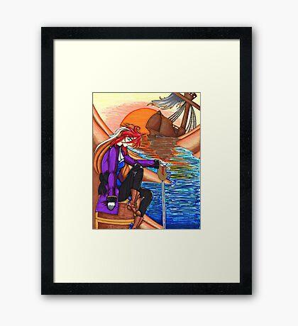 Captain Elorda - Shipwreck Framed Print