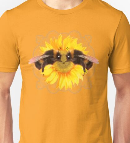 Bumble Bee on sunflower  Unisex T-Shirt