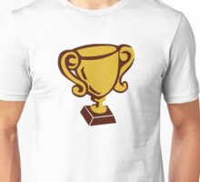 Cup trophy winner champion Unisex T-Shirt
