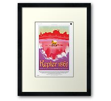 Keper 186f Where the Grass is Always Redder Framed Print