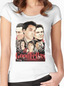 Goodfellas Retro Women's Fitted Scoop T-Shirt