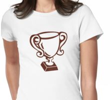 Cup winner champion Womens Fitted T-Shirt