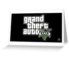 GTA V Greeting Card