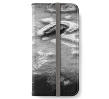 Surrounded - Black Edition - flipped horizontal (iPhone wallet) iPhone Wallet/Case/Skin