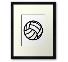Volleyball Framed Print