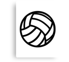 Volleyball Canvas Print