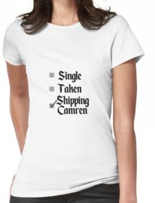 Shipping Camren - Fifth Harmony Womens Fitted T-Shirt