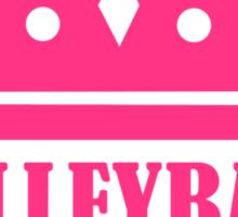 Volleyball queen crown Sticker
