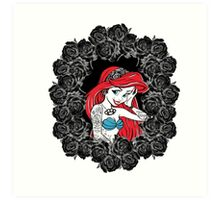 Not all Princesses can be Perfect Art Print