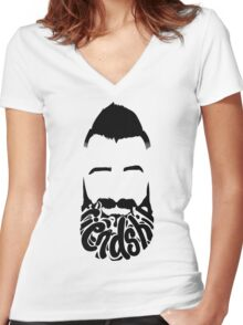Paul Friendship BB18 Women's Fitted V-Neck T-Shirt