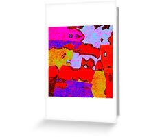 0319 Abstract Thought Greeting Card