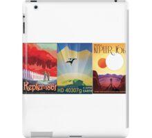 Three Alien Travel Posters iPad Case/Skin