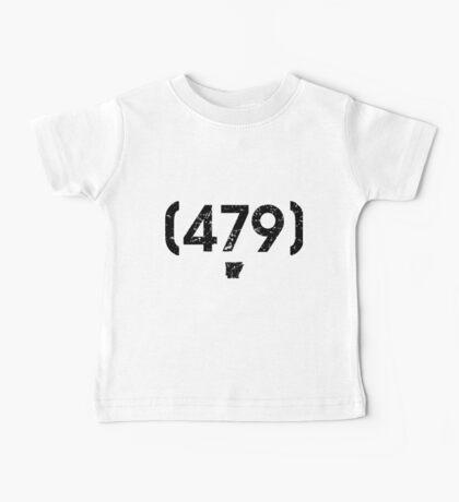 Area Code 479 Arkansas Baby Tee