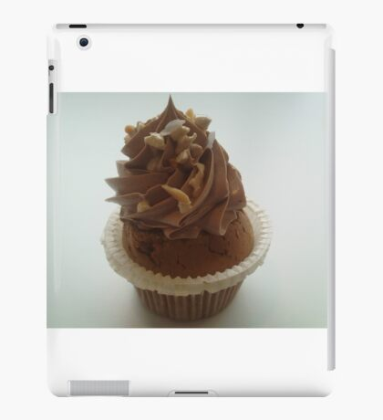 Nutella and praline cupcake iPad Case/Skin