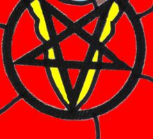 PENTAGRAM ROSE Sticker