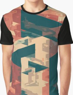 Abstract Triangles Graphic T-Shirt