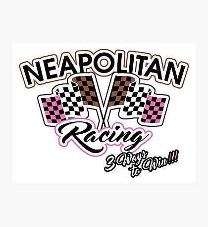 Neapolitan Racing Photographic Print