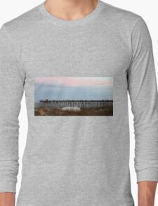 Kure Beach Pier Long Sleeve T-Shirt